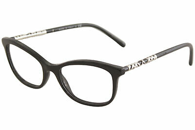 16b8b1e82cf6 Burberry Women's Eyeglasses BE2231 BE/2231 3001 Black Optical Frame 54mm