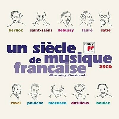 Various Artists - Un Siecle De Musique Frangaise / Various [New CD] Boxed Set