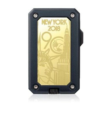 Colibri 90 Year Anniversary Limited Edition Rally Single-Jet Gold/Black Lighter