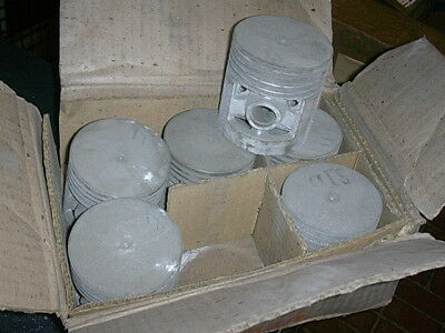 Amc Nash Set Of Standard Pistons For 1947 1948 Nash 600 Nos