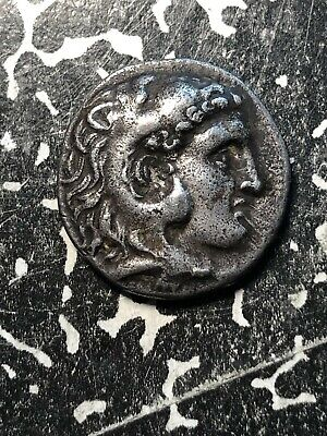 (295-270 BC) Ancient Greece Ionia Miletos Alexander the Great AR Drachm #JM884