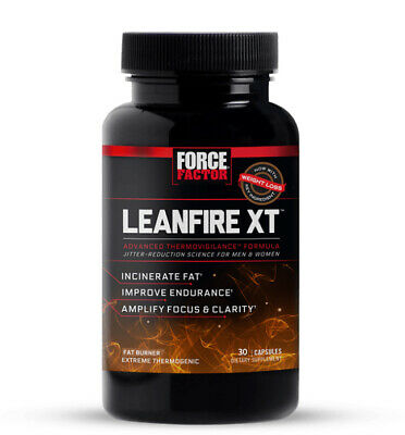 Force Factor LeanFire XT Thermogenic Fat Burner Weight Loss 30 Capsule