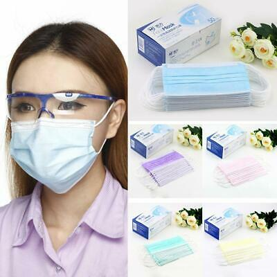 50pcs New Anti-Dust Medical Face Mouth Mask Disposable Health Mouth Masks clean