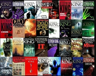 Stephen King 68 Audiobooks Collection  (MP3) Audiobook📧⚡Email Delivery(10s)⚡📧