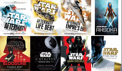 Complete  5 Star Wars Audio Book Collection MP3 Audiobook ⚡Email Delivery(10s)⚡