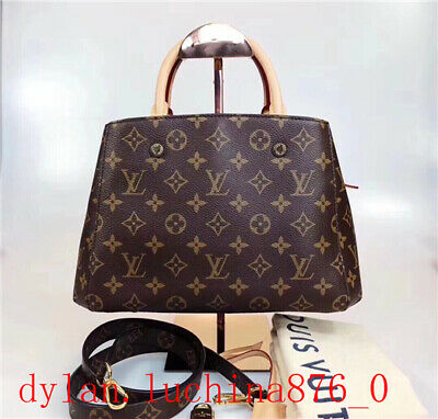 25288d4ba53de Auth LOUIS VUITTON LV Artsy MM Monogram Empreinte Leather Handbag Infini  France!