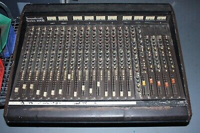 Soundcraft Series 400B 16 Channel Mixer - Untested