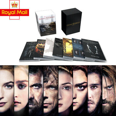 UK Game Of Thrones The Complete Season 1-7 New&Sealed DVD Boxset 1 2 3 4 5 6 7