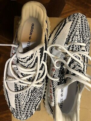 new concept c17c7 74a8a Scarpe Adidas Yeezy boost 350 PLY v2 Zebra white black SHOES 42