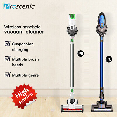 Proscenic Stick Vacuum Cleaner 8KPa 15KPa Rechargeable Cordless Handheld Bagless