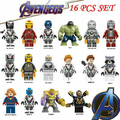 8 PCS MINI FIGS FIT LEGO MARVEL DC BIRTHDAY PARTY BAGS FILLERS UK 2018 HEROES