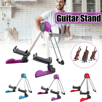 Guitto GGS-03 Robot-shaped Collapsible Guitar Stand for Electronic Guitar Bass