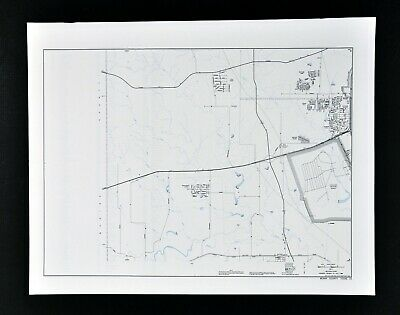 Texas Map - Bexar County Lackland Training Annex Rainbow Hills Heritage Farm