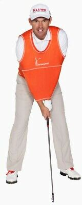 The Golf Swing Shirt Orange #3 110-150 lbs Unisex Golf Training Aid Trainer