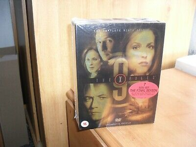 The X Files: Season 9 DVD (2005) new and sealed