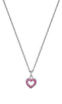Trendor Jewellery Necklace with Heart Pendant for Children 925 Sterling Silver