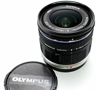 Olympus M.Zuiko Digital ED 9-18mm f/4.0-5.6 Micro Four Thirds Objektiv -NEU&OVP!