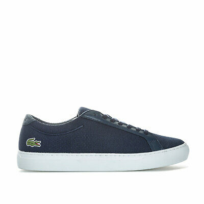 Lacoste Mens L.12.12 BL 2 CAM Trainers in Navy