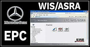 Mercedes Benz WIS ASRA & EPC Service Repair Workshop Manual 1986-2018 USB