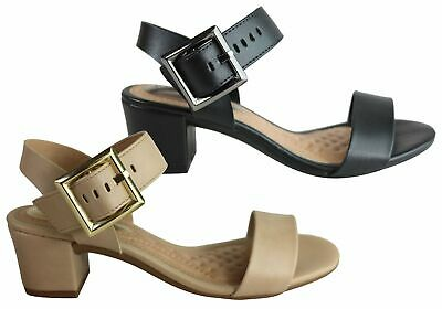 New Beira Rio Evy Womens Comfort Cushioned Low Heel Sandals Made In Brazil