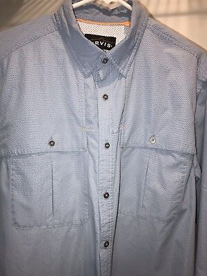 Search For Flights Orvis Open Air Caster Long Sleeve Shirt Mens Large Off White Vented Fishing Shirts