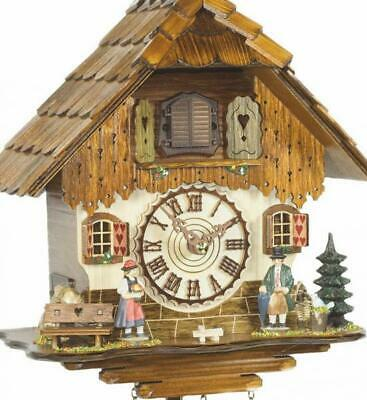 Chalet cuckoo clock with quartz movement, 452 Q HZZG