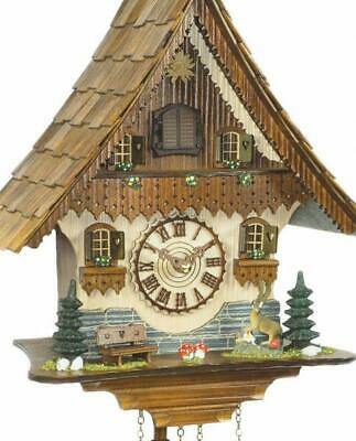 Chalet cuckoo clock with quartz movement, 454 Q HZZG