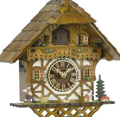 Chalet cuckoo clock with quartz movement, 404 Q HZZG