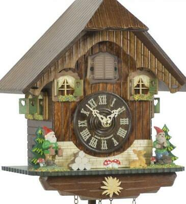 Chalet cuckoo clock with quartz movement, 433 Q