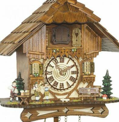 Chalet cuckoo clock with quartz movement, 451 Q HZZG
