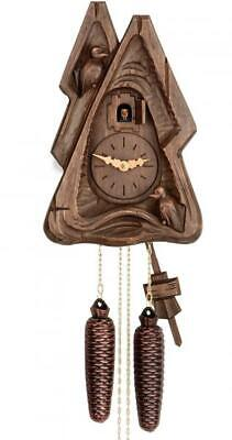 Special Edition: hand-carved cuckoo clock with mechanical 8-days-movement, B ...