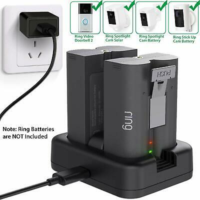 Ring Rechargeable Charg Statio For Video Doorbell 2 And Spotlight Cam Battery