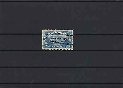 Panama Canal Zone Official Overprint Stamp ref 22539
