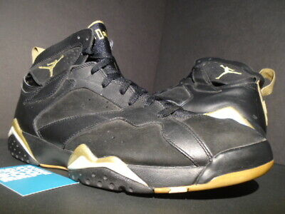 1953f2aeae0781 Nike Air Jordan Vii 7 Retro Gmp Golden Moment Gold Medal Pack Black White 13
