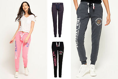 New Womens Superdry Joggers Selection - Various Styles & Colours 090519