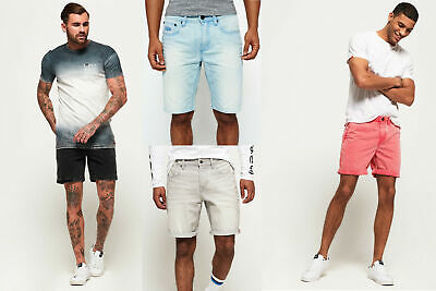 New Mens Superdry Shorts Selection - Various Styles & Colours2 090519
