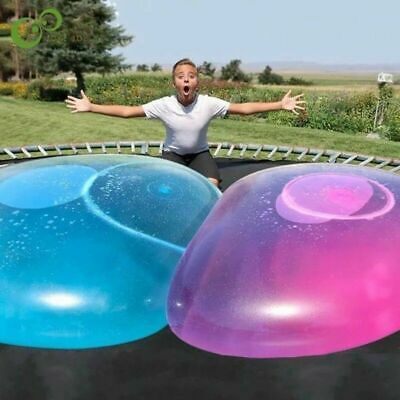 NEW 110cm Big amazing bubble ball Water-filled interactive rubber balls Outdoor