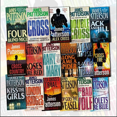 James Patterson - Alex Cross Collection [1-22] Audiobook⚡Email Delivery(10s)⚡