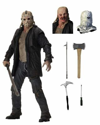 """Friday 13th 2009 Ultimate Jason Voorhees 7"""" Scale Action Figure NECA IN STOCK!"""