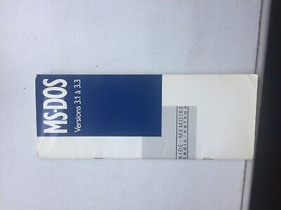 Ms Dos Aide Memoire Versions 3.1 A 3.3  1988