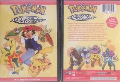 Pokemon: Master Quest - The Complete Collection (7-Disc Set dvd)