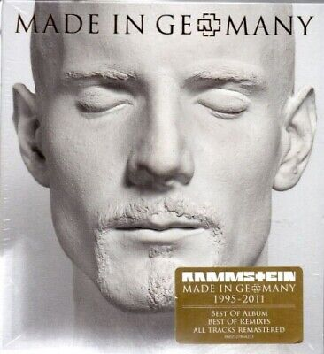 Rammstein - Made in Germany 1995 - 2011 - Best Of - Special Edition - 2 CD - NEU