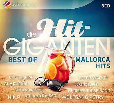 DIE HIT GIGANTEN  Best of Mallorca Hits (Sampler 2019)  3 CD   NEU & OVP  17.05.