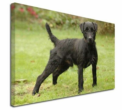 """Fell Terrier Dog 30""""x20"""" Wall Art Canvas, Extra Large Picture Prin, AD-FT1-C3020"""