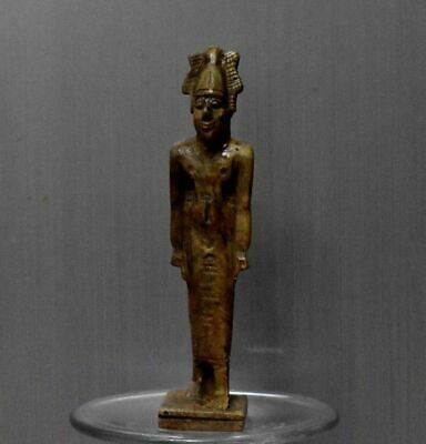 ANCIENT EGYPT ANTIQUE Egyptian stone Osiris statue