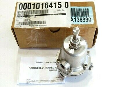 Fairchild Model 66 66222NJSNEP SS Pneumatic Pressure Regulator NEW IN BOX