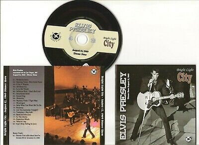 "Elvis Presley Cd ""Bright Light City"" 2012 Convair August 12 1969 Live Las Vegas"