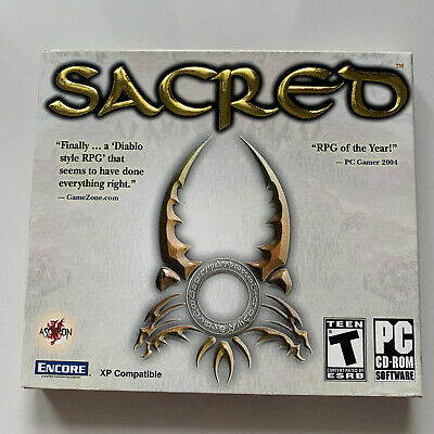 Sacred - PC (BRAND NEW)