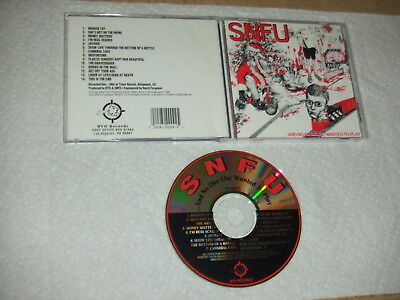 NM 1994 ReIssue RARE SNFU And No One Else Wanted To Play CD BYO TESTED RR 009CD