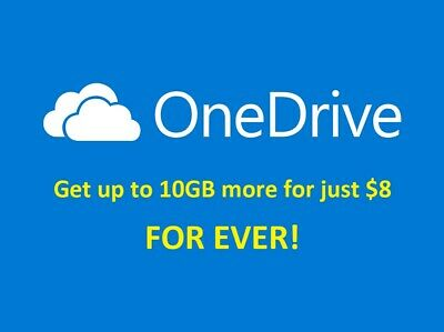 (Deliver within 24 hours) Upgrade Your OneDrive Storage to 15GB Permanently